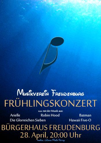 Plakat Frühlingskonzert Freudenburg 2012